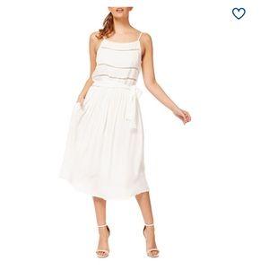 DEX // Laser Cut Midi Dress